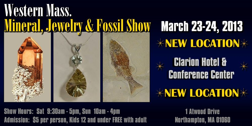 Western Mass Mineral Show