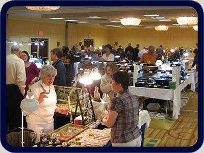 Over 20 Vendors in two big rooms